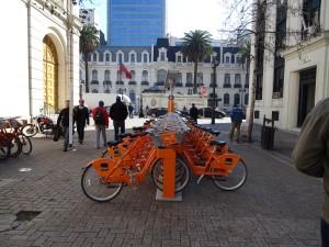 Free bicycle parking