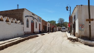 A quite street in San Pedro.