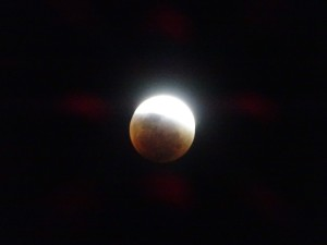 Supermoon Eclips in the clearest sky. Redmoon in Picso Elqui