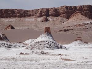 Salt on the surface