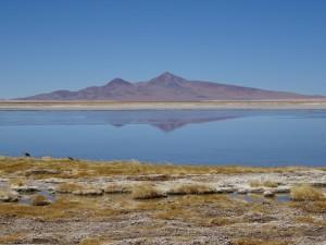Nice reflection on the lagoon