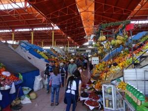 Mercado Central (our favourite fruit shops)