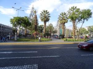 A park in Yanahuara