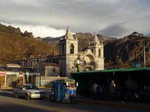 Main center in Chivay
