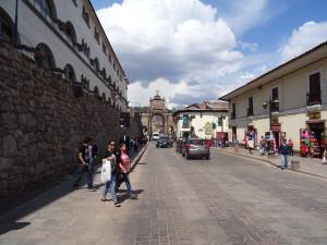 A street view in Cusco