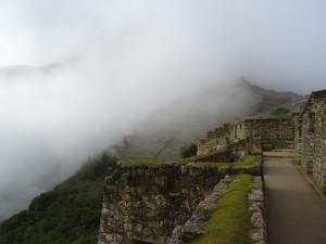 Nice Clouds over Machu Picchu