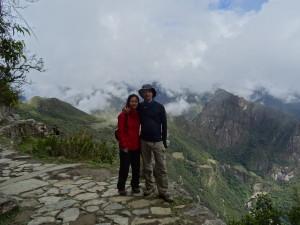 Yay~! we are here, Machu Picchu