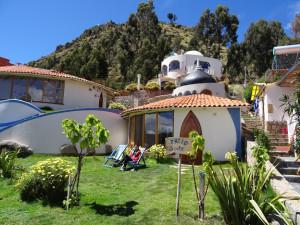 Out side of Hotel La Cuplua