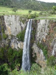 Avencal Falls 330ft falls.