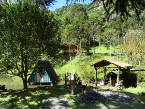 Animals, Forest, waterfalls. Very nicely maintained farm.