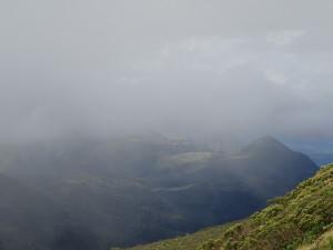 Morro da Boa Vista, very cloudy