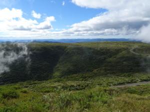 Morro da Boa Vista, the highest peak of Santa Catarina.