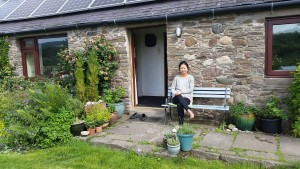 Ward of Turin Cottage in Forfar, UK. Very nice peaceful farmland in Scotland