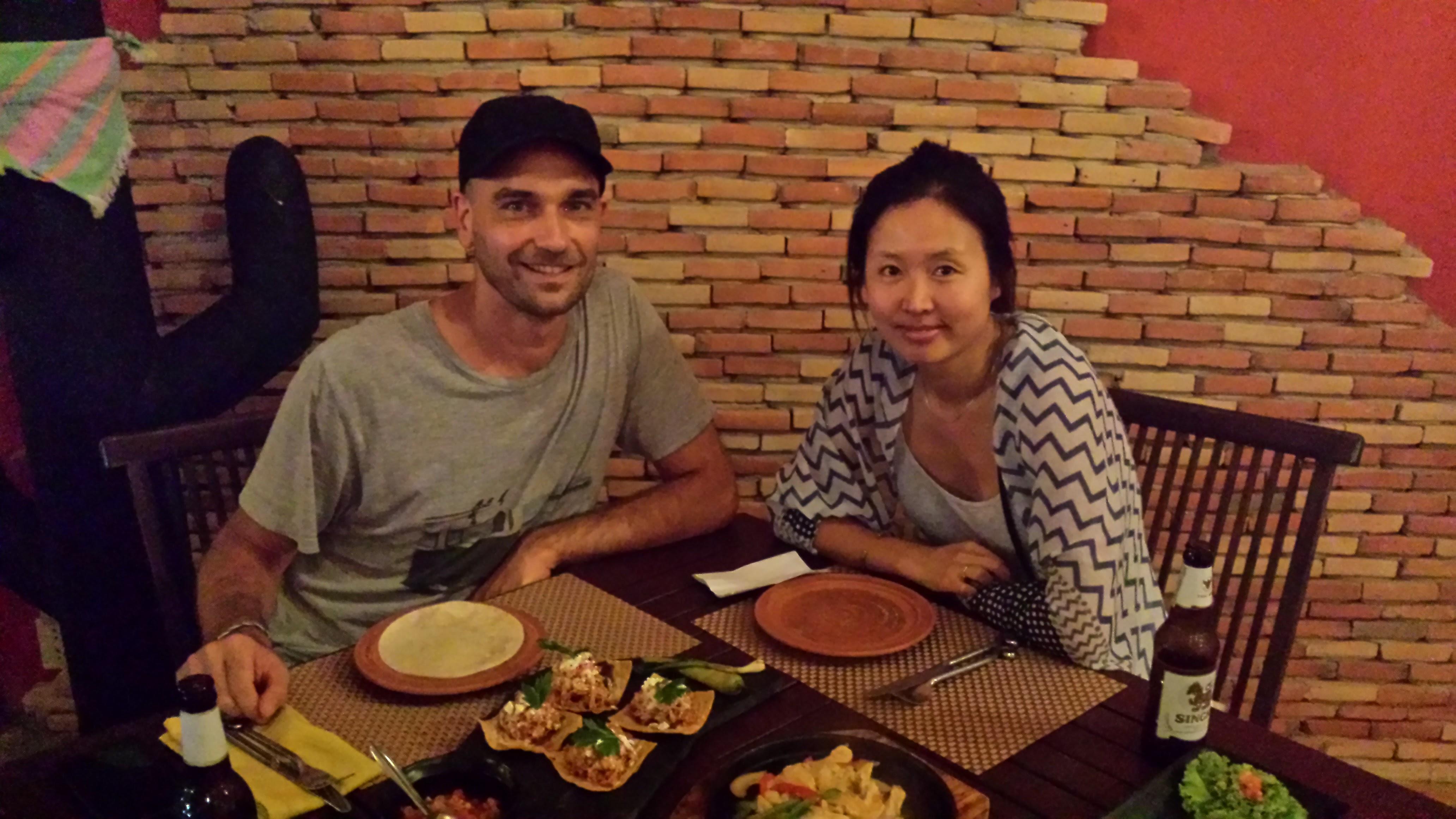 Good Mexican food in Kai bae beach.