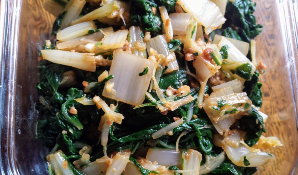 seasoned silverbeet